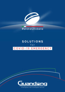 Soluzioni con materiali Guandong per affrontare emergenza Covid-19