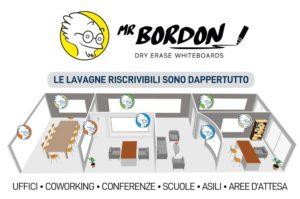 Lavagne bianche riscrivibili per uffici casa coworking conferenze scuole aree pubbliche
