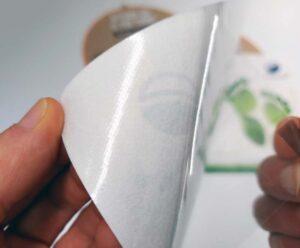 Pellicola calpestabile senza colla facile da applicare e da rimuovere ecologica e pvc free
